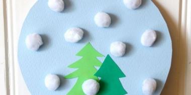 Paper Snow Globes