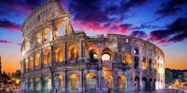 Coliseum. Ancient Rome 2.12.15