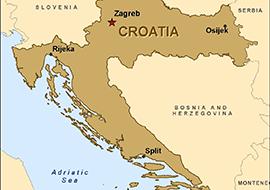 map-croatia