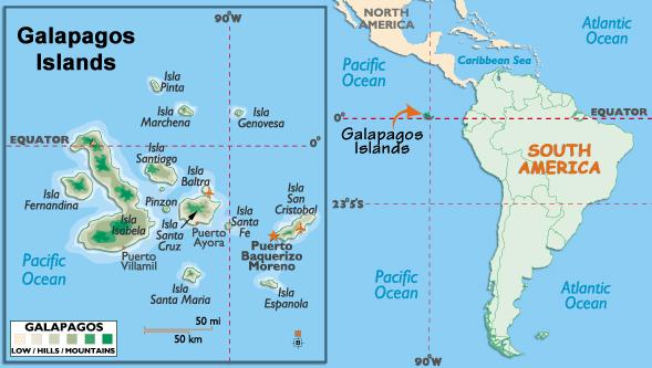 Galapagos-Islands-Map