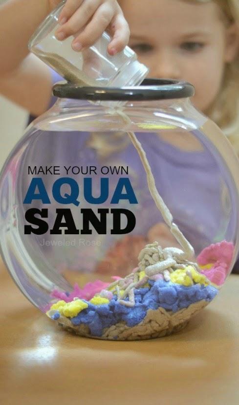 aqua sand recipe 0911