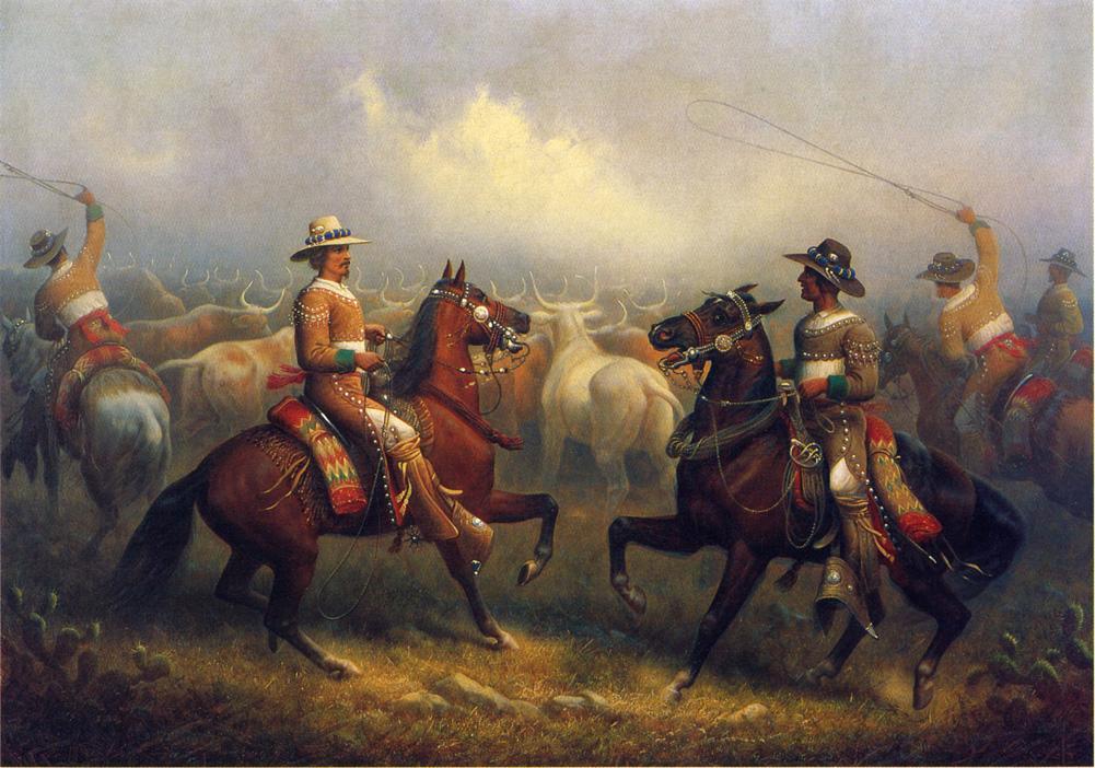 James-Walker-xx-California-Vaqueros-xx-Private-collection