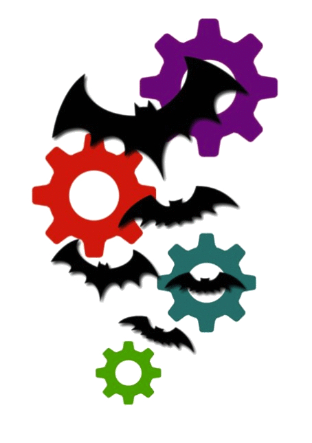 Batty Ball Bats & Gears Transparent