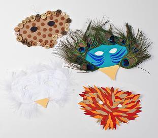 Endangered Animals Masks