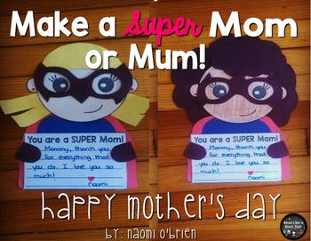 Super Mom Craft
