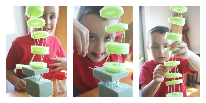 Pool-Noodle-Structures-Engineering-Idea-for-Kids-Toothpick-Structures