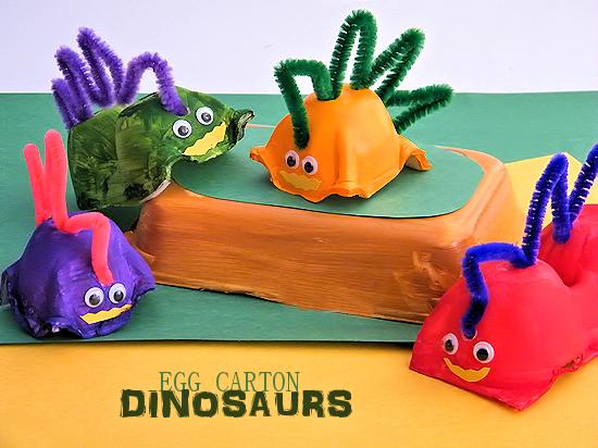 egg-carton-dinosaur