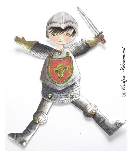 decoupage-gratuit-chevalier-pantin-1