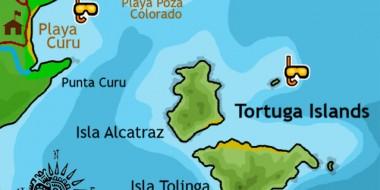 tortuga-islands-map-costa-rica