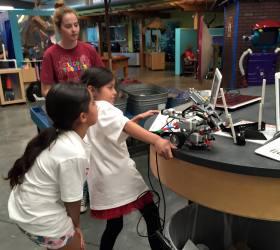 Robotics girls