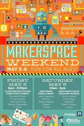 Makerspace Weekend Poster