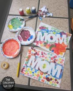 Mother27sDayPaintResistArtProject